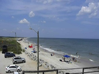 Kure Beach NC Surf Report Webcam and Weather - SurfChex com