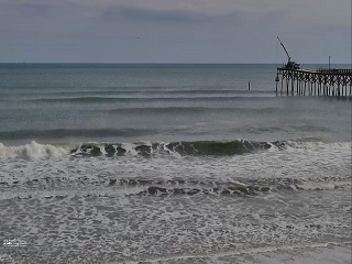 Nags Head NC Jennettes Pier Live Web Cam, Surf Report, and